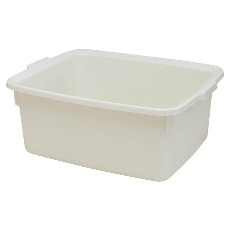 Addis 5 Star Rectangular Washing-Up Bowl, 12L, Linen Effect