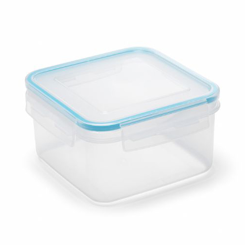 Addis Clip & Close Square Food/Liquid Container 1.1L