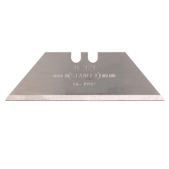 Stanley 1992 Spare Knife Blades, Pack of 10 (2-11-921)