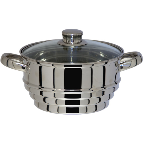 Kitchen Craft Universal Steamer Clearview 20cm Stainless Steel