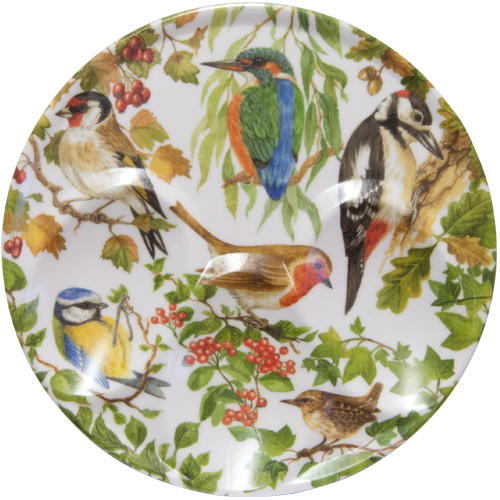 Melamine Spoon Rest Birds of Britain