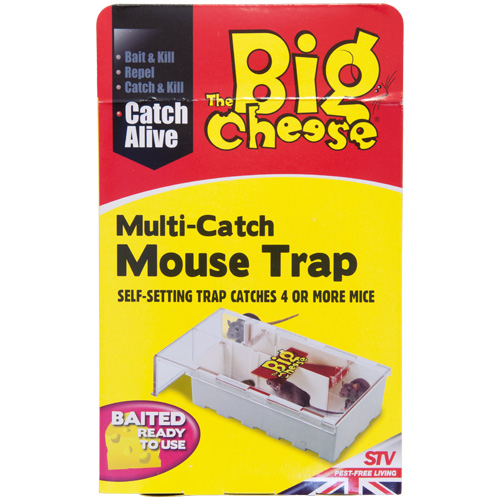 STV The Big Cheese Multi-Catch Mouse Trap (STV162)