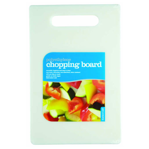 Kitchen Craft Polyethylene Cutting Board - 7.5 x 11.5 inch