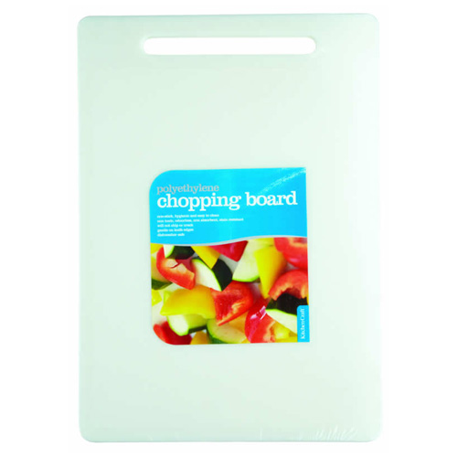 Kitchen Craft Polyethylene Cutting Board - 9.5 x 13.5 inch