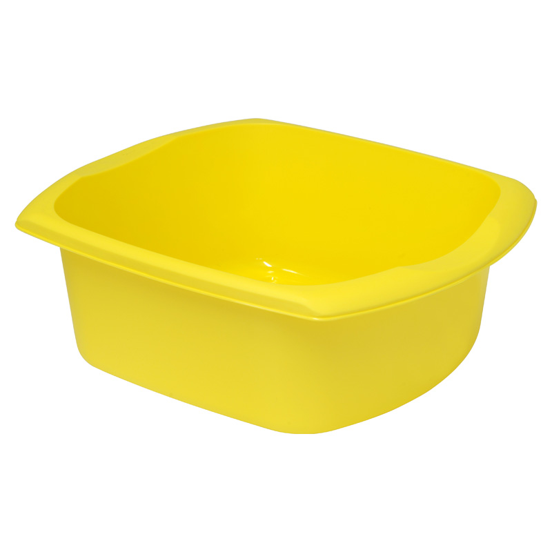 Addis Kitchenware Rectangular Washing-Up Bowl, 9.5L, Yellow