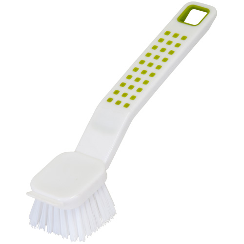 Addis Washing-Up Brush - Deluxe White and Lime
