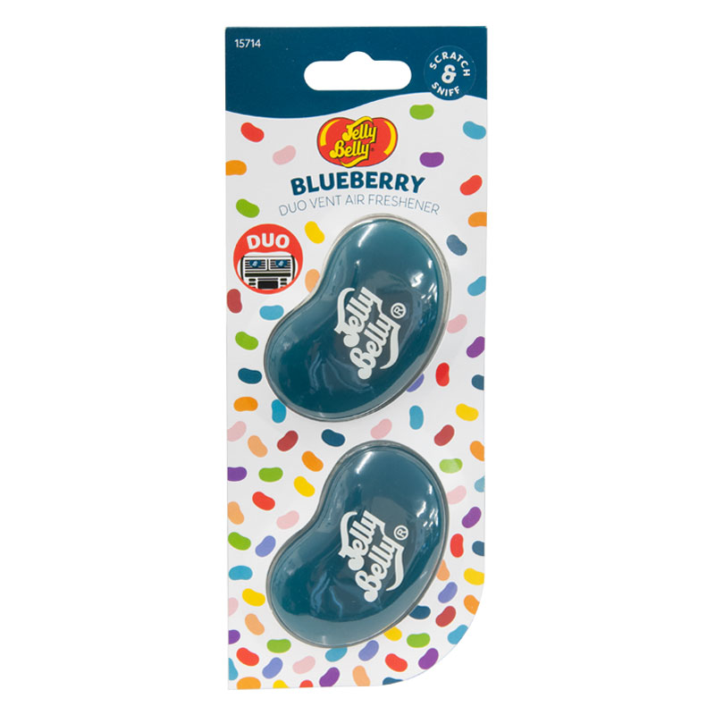 Jelly Bean Blueberry Duo Vent Air Freshener