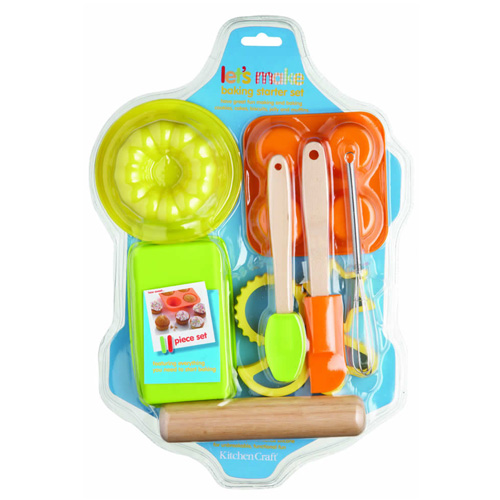 Kitchen Craft Lets Make Starter Baking Set - KCLM888