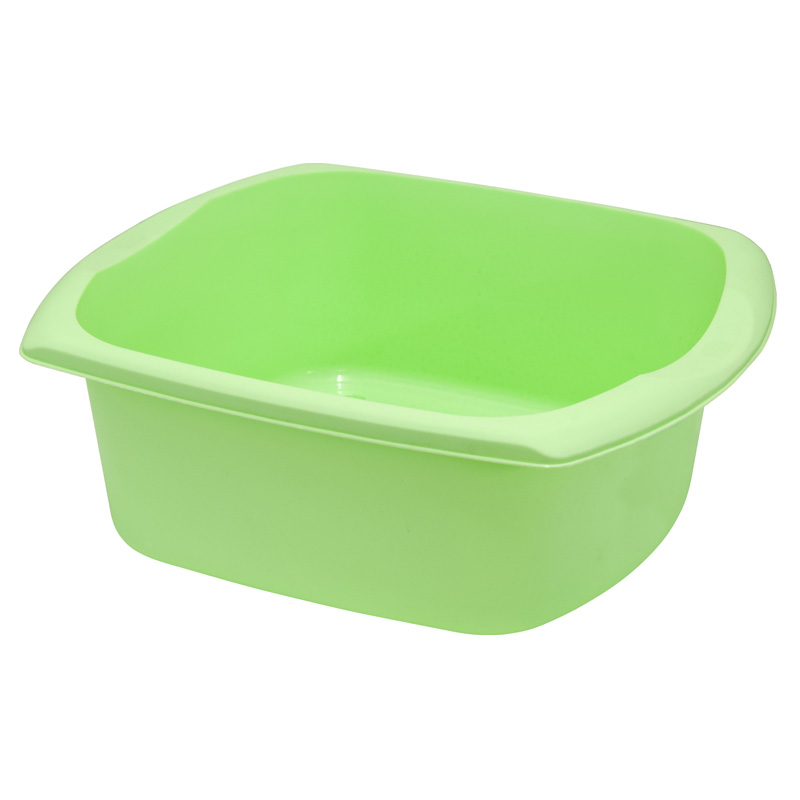 Addis Kitchenware Rectangular Washing-Up Bowl, 9.5L, Mint