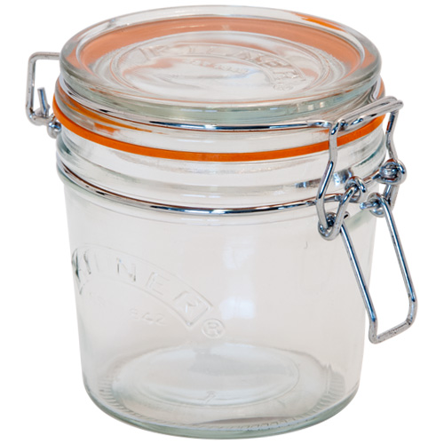 Kilner Glass Preserving Jar With Clip-Top Lid - 350ml