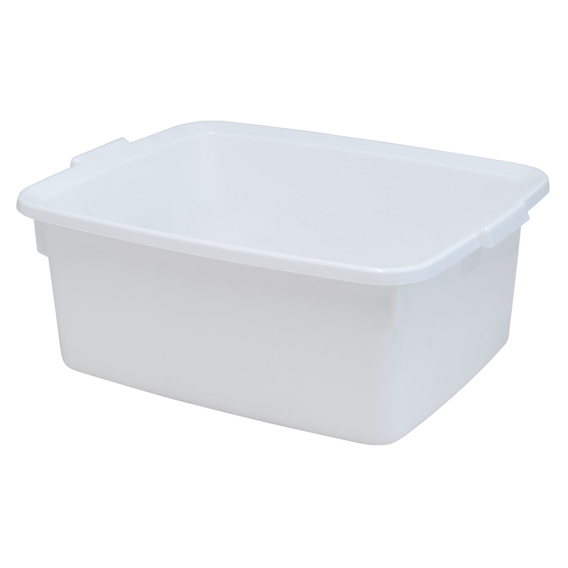 Addis 5 Star Rectangular Washing-Up Bowl, 12L, White