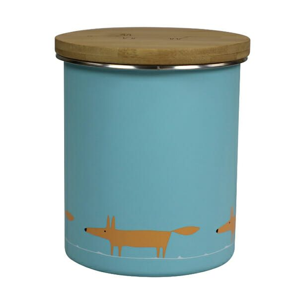 Dexam Scion Living Storage Canister - 1 litre Mr Fox Blue