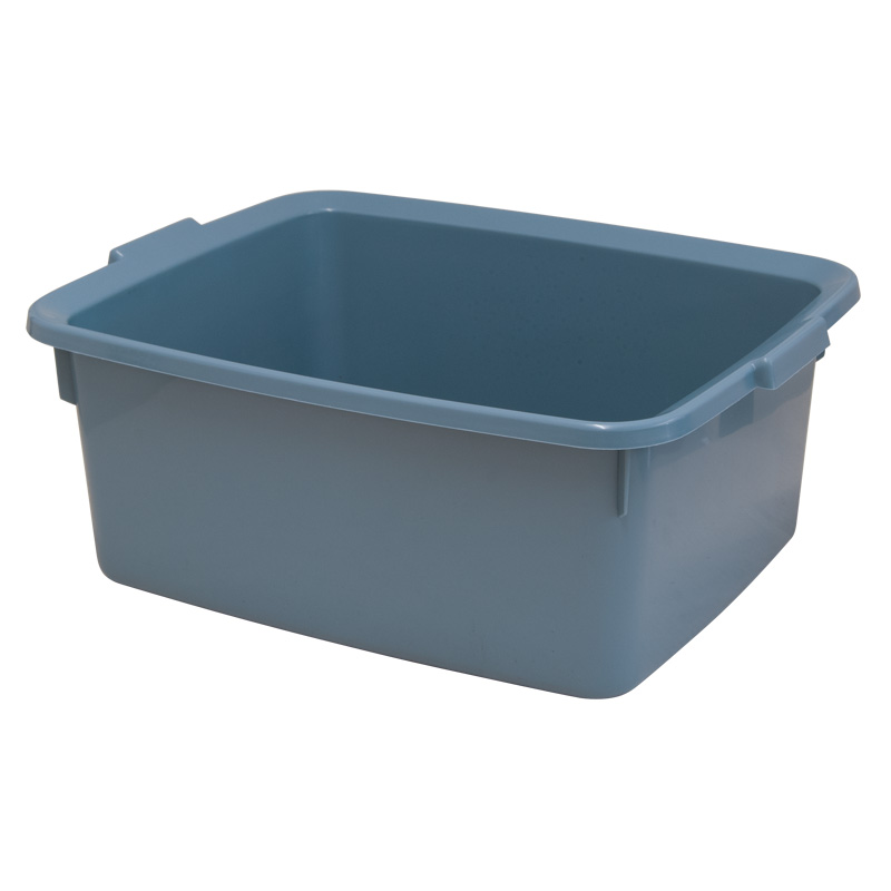 Addis 5 Star Rectangular Washing-Up Bowl, 12L, Air Blue