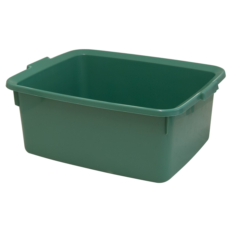 Addis 5 Star Rectangular Washing-Up Bowl, 12L, Sage Green