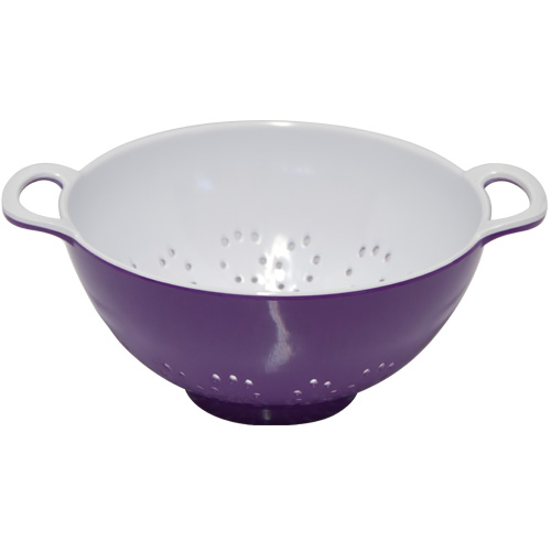 Kitchen Craft 6in Purple Melamine Colander