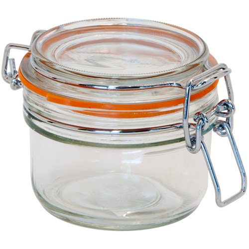 Kilner Glass Preserving Jar With Clip-Top Lid - 125ml