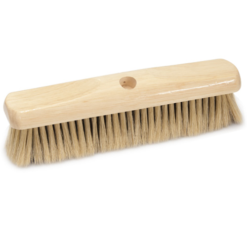 Westbrook Broom Head - Natural Soft Bristle - 12 inch