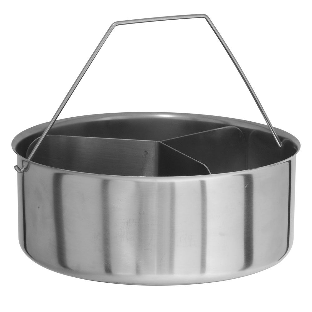 Kuhn Rikon 20cm Trio Divider Bowl Set For 22cm Duromatic (2007)