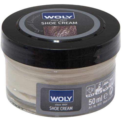 Woly 50ml Shoe Cream Polish For Smooth Leather - Beige (002)