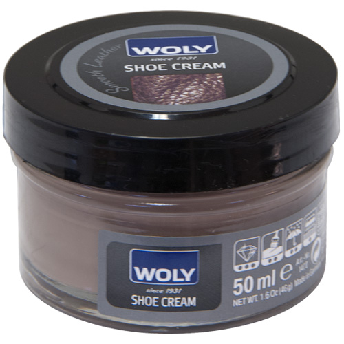 Woly 50ml Shoe Cream Polish For Smooth Leather - Terra (152)