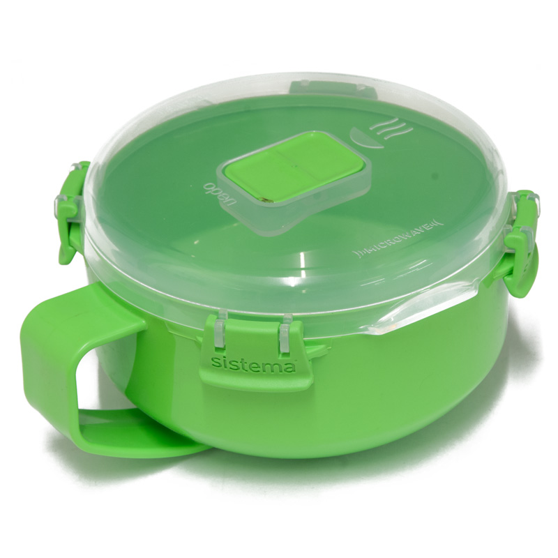 Sistema Microwave Breakfast Bowl To Go, 850ml, Assorted Colours
