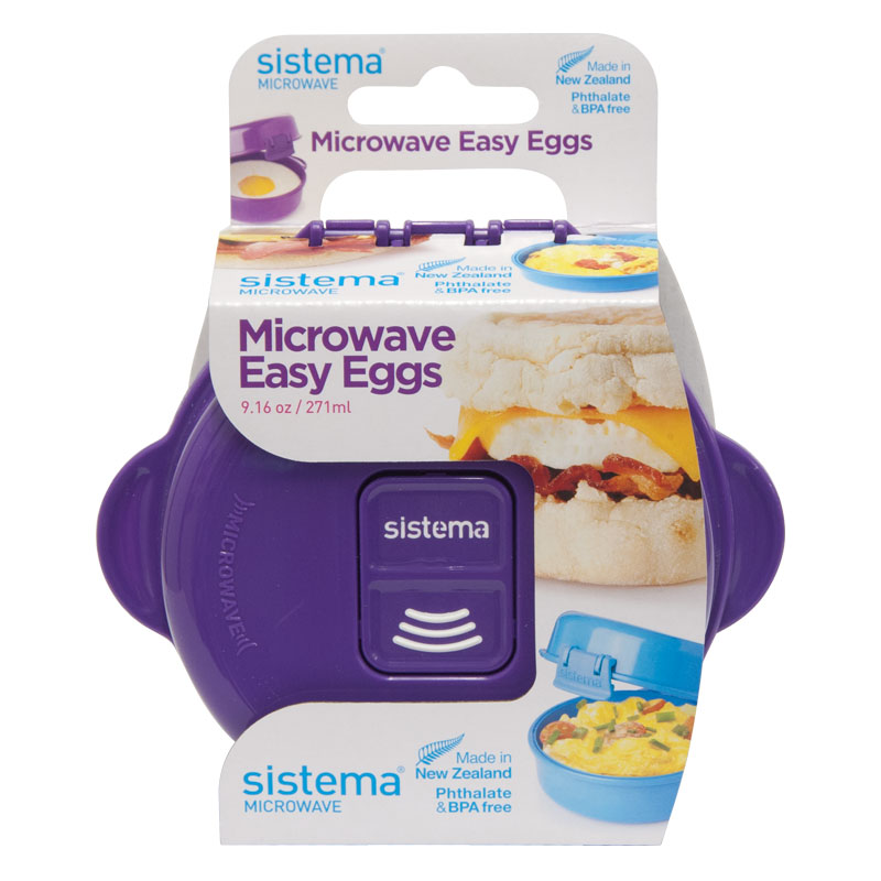 Sistema Microwave Easy Eggs, 271ml, Assorted Colours