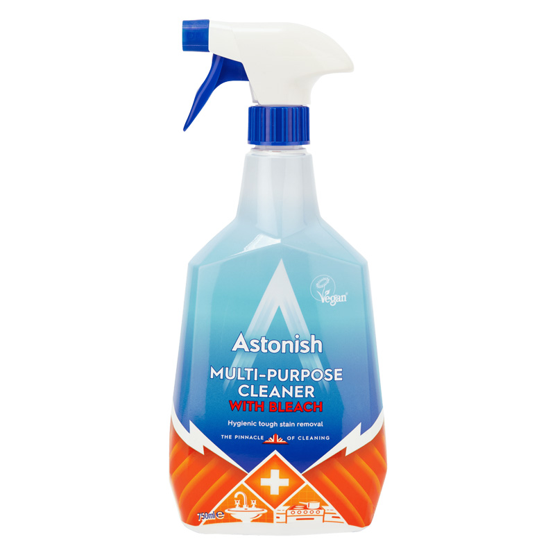 Astonish Multi-Purpose Cleaner With Bleach, 750ml