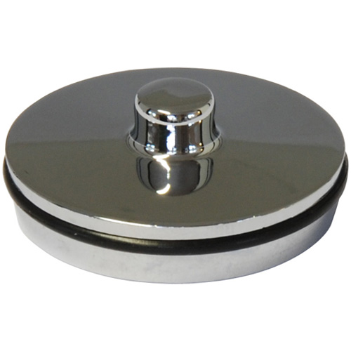 Chrome Plated Basin Plug, 1 1/2 inch