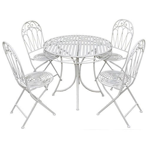 Royalcraft Romance Round Table and 4 Chairs