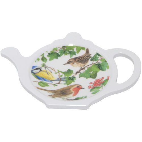 Melamine Teabag Tidy, Birds of Britain, M27