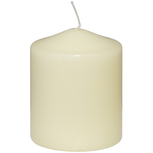 Prices Ivory Altar Candle -10cm x 8cm