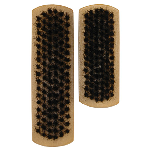 Elliott Shoe Brush Set - Natural Bristle - 2 Piece