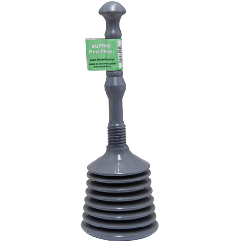 Buffalo Sink Plunger - Plastic Maxi Sink and Bath Plunger