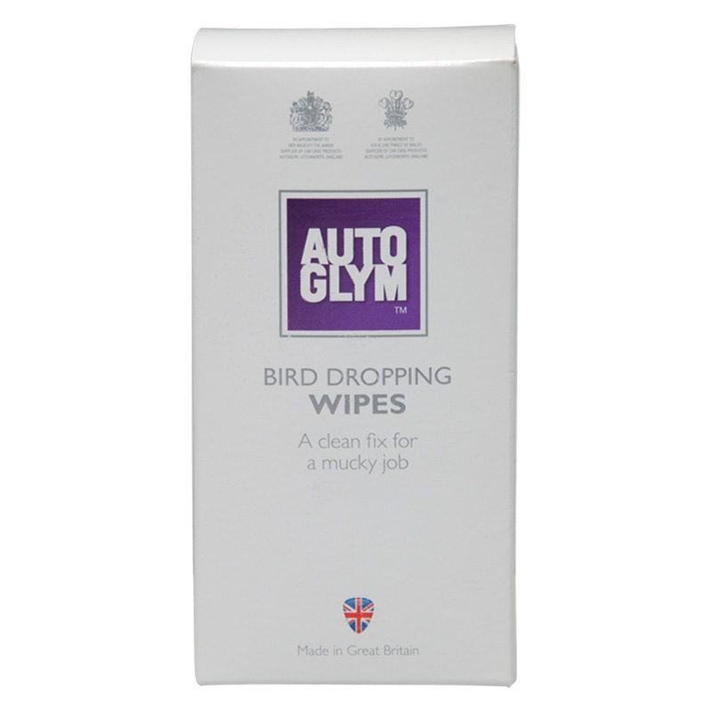 Autoglym Bird Dropping Wipes, Pack of 10