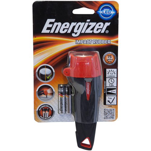 Energizer Impact Rubber LED 2-Cell AAA Torch (LP55421)