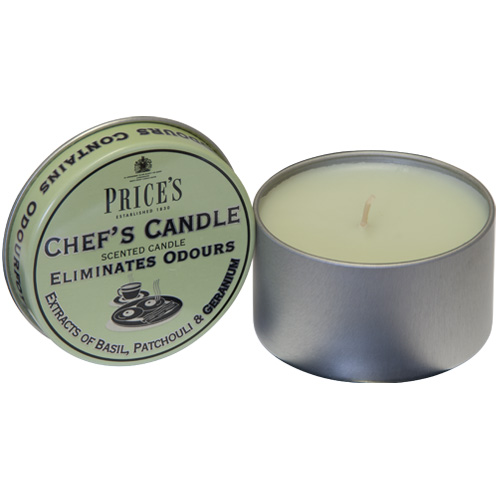 Prices Chefs Scented Candle - Eliminates Kitchen Odours