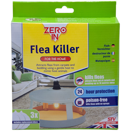 Zero In Flea Killer for The Home - Poison Free