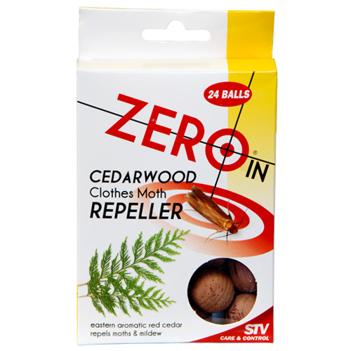 Zero In STV Cedar Balls Moth And Mildew Repellent