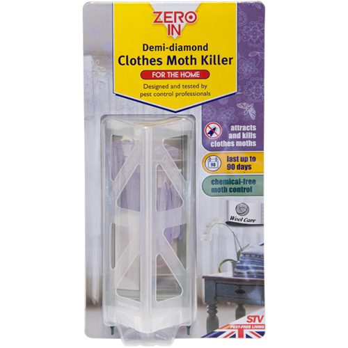 STV Zero In Demi-Diamond Clothes Moth Killer (ZER437)