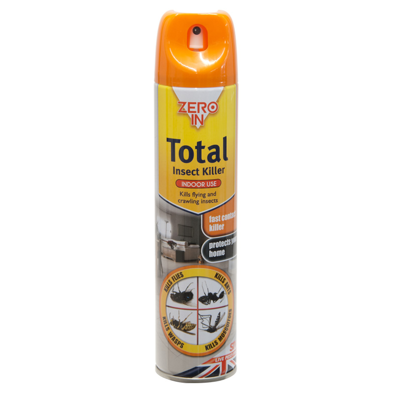 STV Zero In Total Insect Killer Spray, 300ml