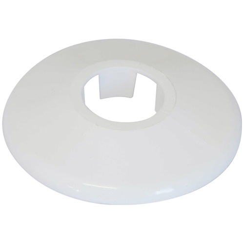 Talon White 15mm Pipe Collars - Pack of 10