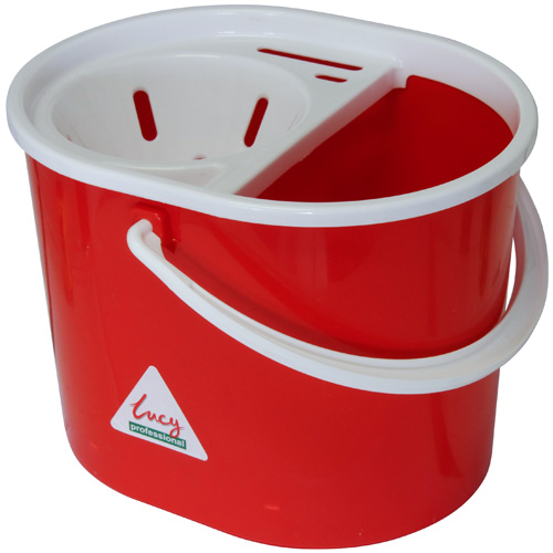 Lucy Mop Pail And Wringer Set - Red