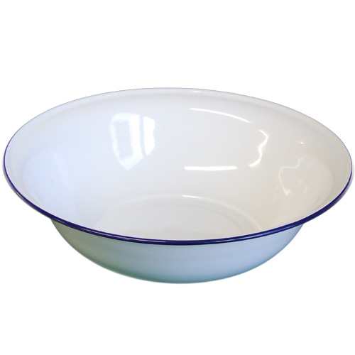 Falcon Enamelware White Bowl, 36cm Diameter (41036)