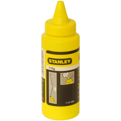 Stanley Replacement White Chalk For Chalk Lines - 1-47-405
