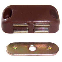 Brown Medium Magnetic Catch (6072)