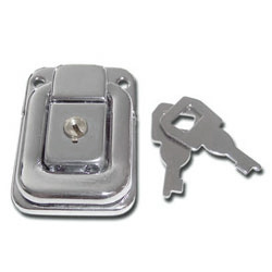 Chrome Plated Case Lock (7136)