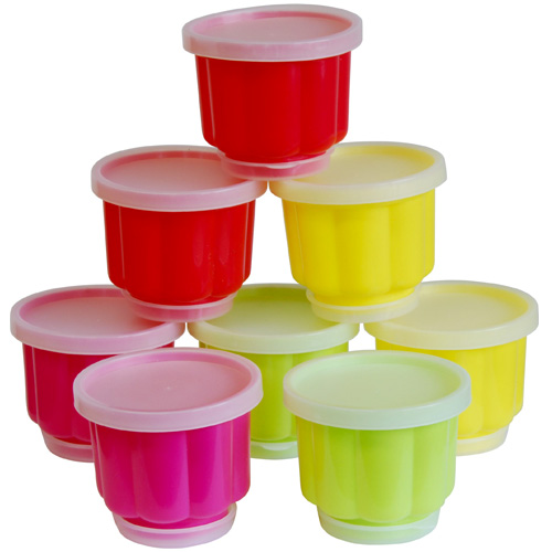 Tala Mini Jelly Moulds - Set Of 8 - Assorted Colours - 11150