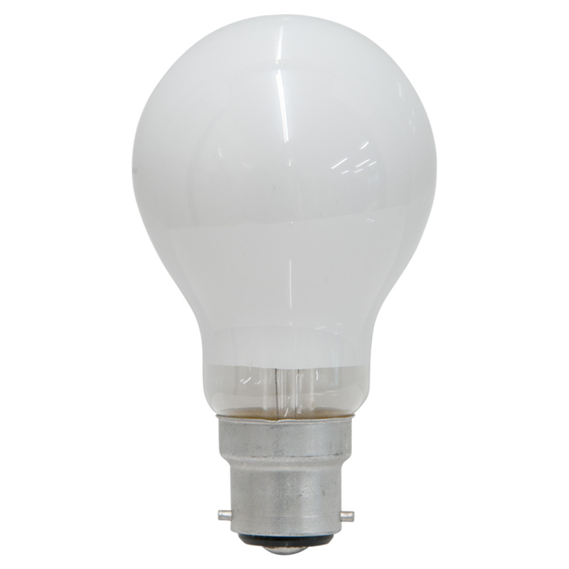 25W 240V BC-B22d Coloured Light Bulb, White