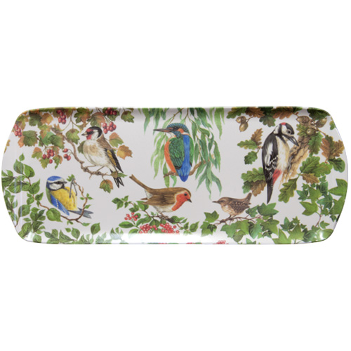 Melamine Sandwich Tray, Birds of Britain, M51