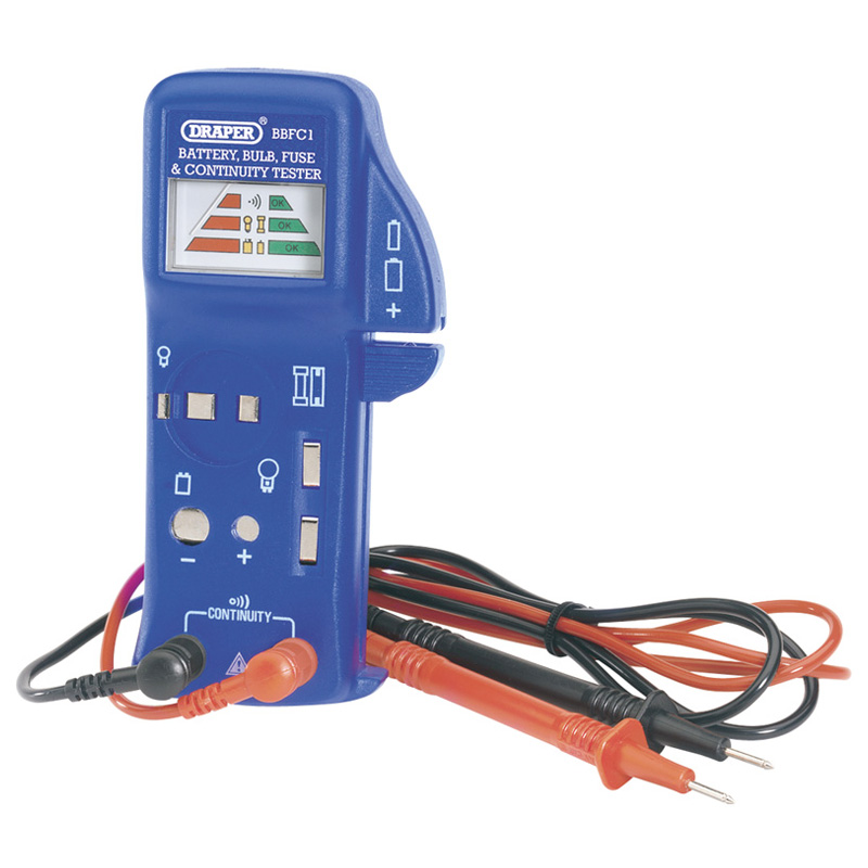 Draper Battery Bulb and Fuse Tester - 57574
